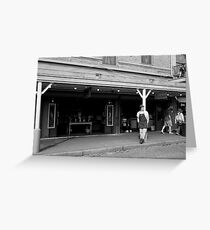 Seattle Pike Place Market Greeting Card