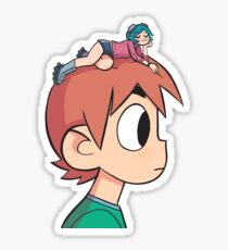 Ramona on the Mind Sticker