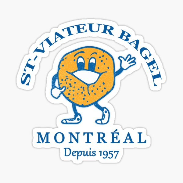 Bagels Are booming ST Viateur Bagel Montreal Depuis 1957 Sticker
