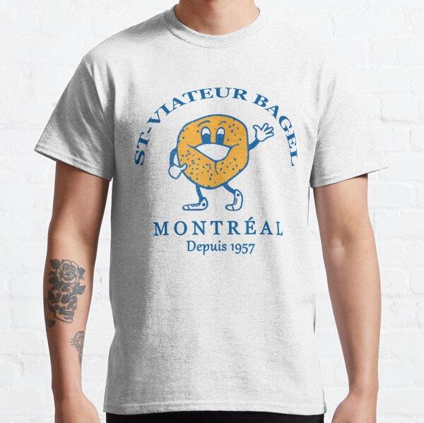 Bagels Are booming ST Viateur Bagel Montreal Depuis 1957 Classic T-Shirt