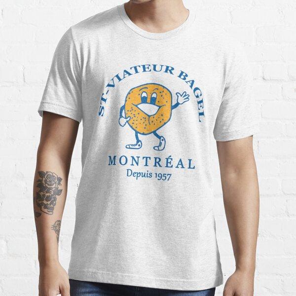 Bagels Are booming ST Viateur Bagel Montreal Depuis 1957 Essential T-Shirt
