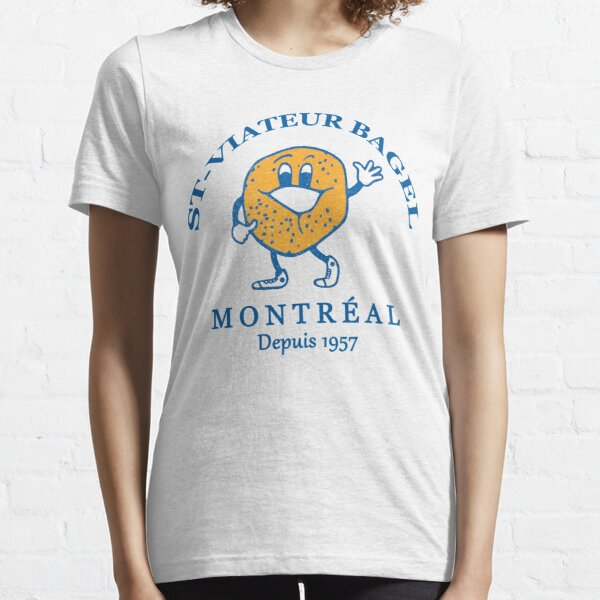 Bagels Are booming ST Viateur Bagel Montreal Depuis 1957 Essential T-Shirt
