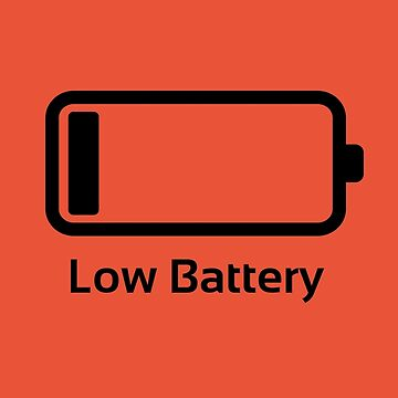 Low battery / Funny & Cool / loading bar von badbugs