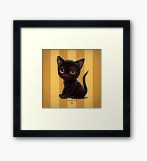 Cataclysm - Bombay Kitten - Stripes Framed Print