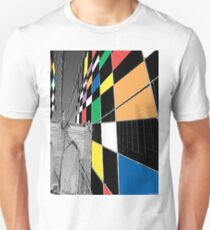 Brooklyn Bridge Analogue Unisex T-Shirt