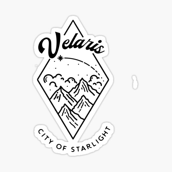 City of Starlight Sticker