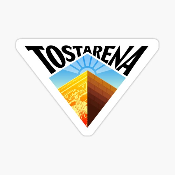 Tostarena Sticker