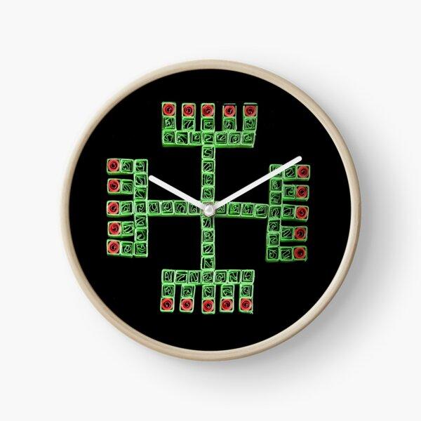 Hands of God - Symbol Clock