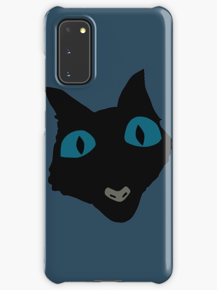 Coraline Cat Vector Art Case Skin For Samsung Galaxy By Ordainedegg Redbubble