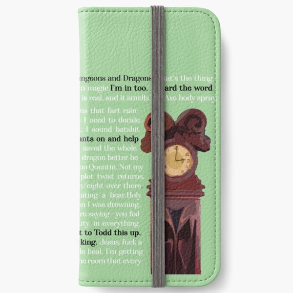 The Magicians Quotes iPhone Wallet