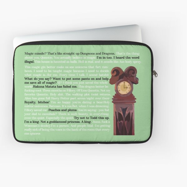 The Magicians Quotes Laptop Sleeve