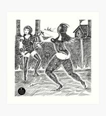 Gladiators! Art Print