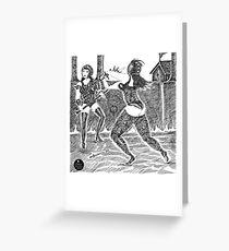 Gladiators! Greeting Card