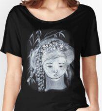 YURIS DREAM   DARK TEES BEST  TEE SHIRT.KIDS TEE.STICKER Women's Relaxed Fit T-Shirt