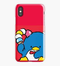 Penguin Sam with Ice Cream iPhone Case