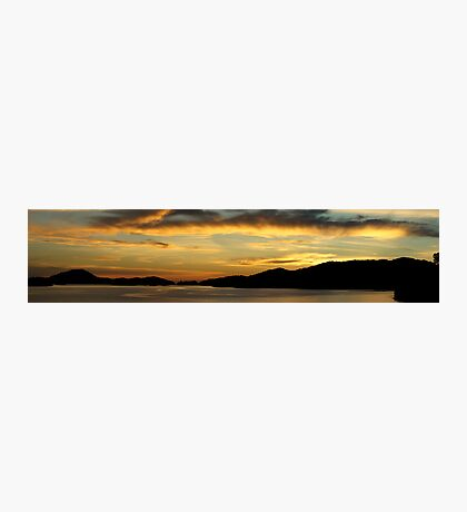 Sunset Panoramic Photographic Print