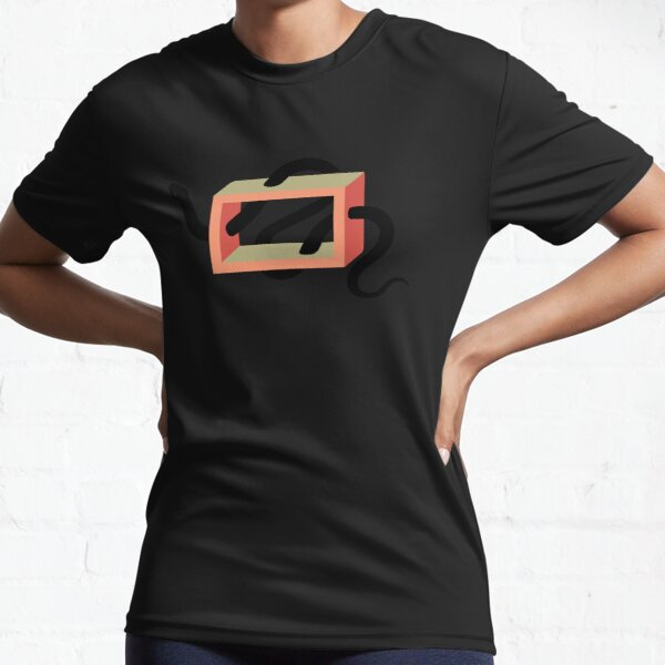 Snake in the Box Active T-Shirt