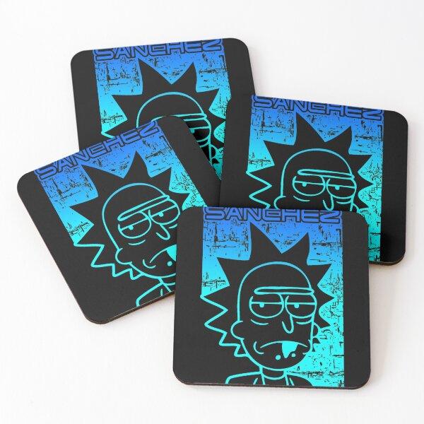 Sanchez | Rick Sanchez | Rick and Morty inspired design Coasters (Set of 4)