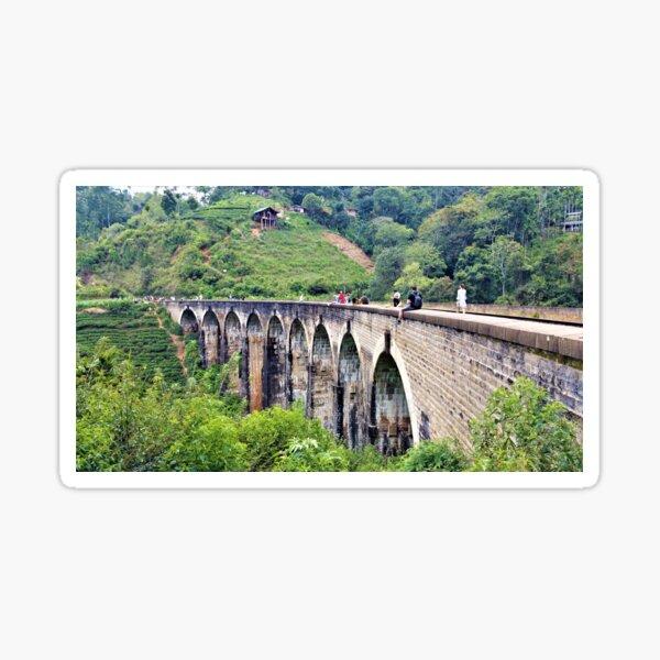 Railway bridge in Sri Lanka Sticker