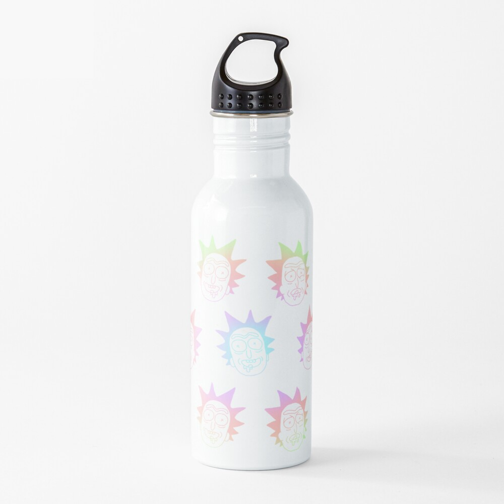 50 shades of rick pattern colorful Water Bottle