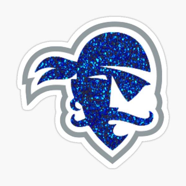 Seton Hall Glitter Logo Sticker
