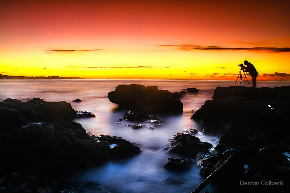 Photographer Silhouette  by Damon Colbeck