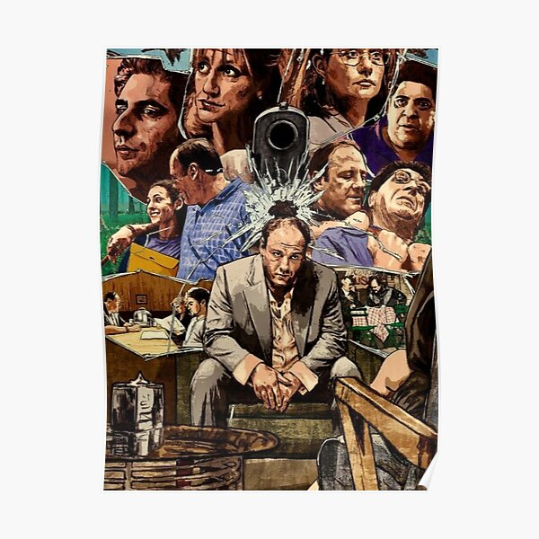 Sopranos artwork  Poster