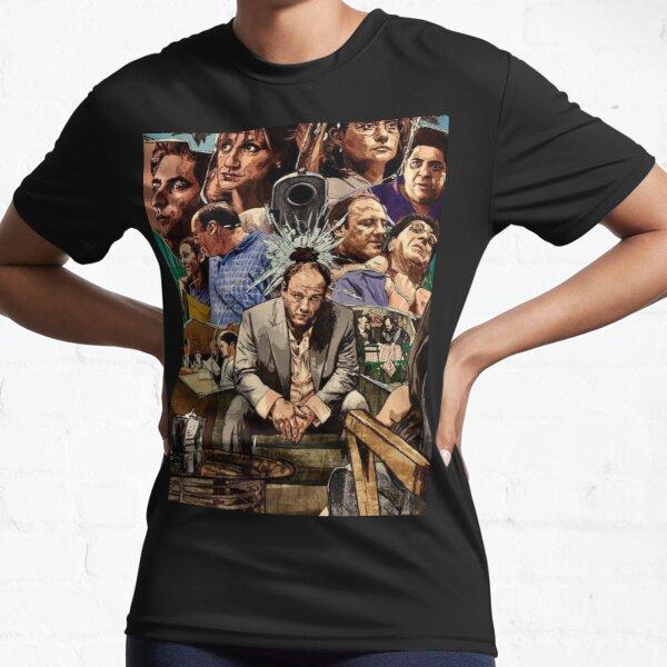 Sopranos artwork  Active T-Shirt
