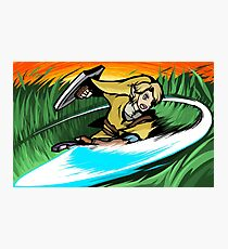 Link | Sword Slash Photographic Print