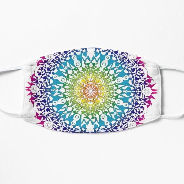 Rainbow Mandala Mask