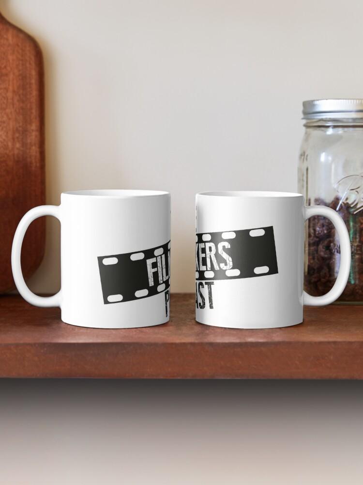 Alternate view of Large Logo Podcast Mug