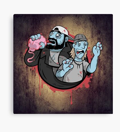 Bong of the Dead! Canvas Print