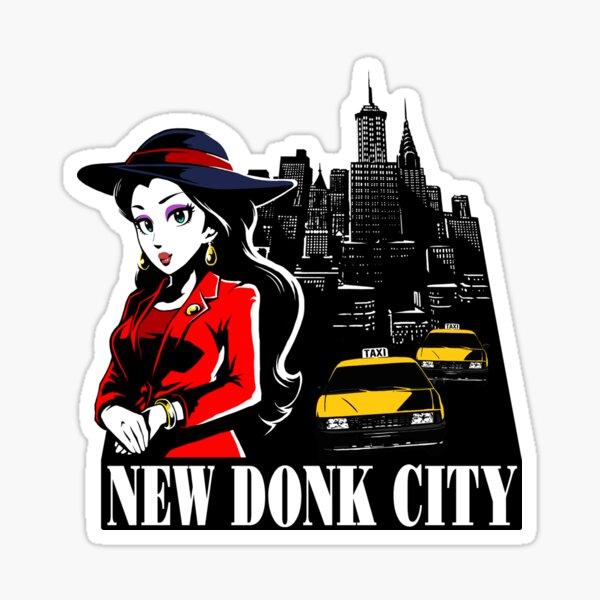 New Donk City Sticker