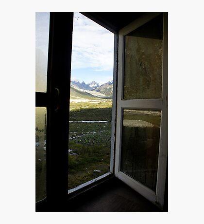 A Door's View.. Photographic Print