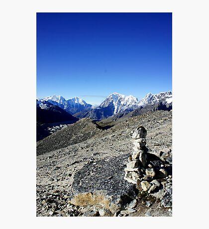 Himalayan Cairn Photographic Print