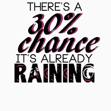 There's a 30% chance it's already raining by CoExistance