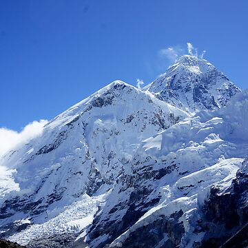 Mt Everest by PerkyBeans