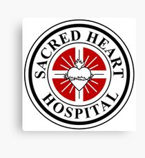 Sacred Heart Hospital Canvas Print
