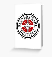 Sacred Heart Hospital Greeting Card