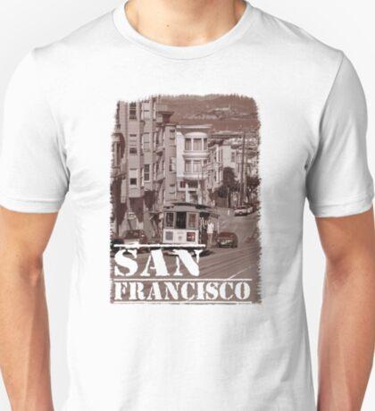 Cable Car and Alcatraz T-Shirt