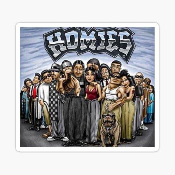 The Homies Sticker