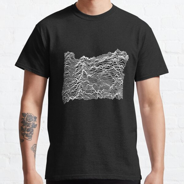 Oregon - Unknown Elevations (Without Text) Joy Plot Shirt Classic T-Shirt