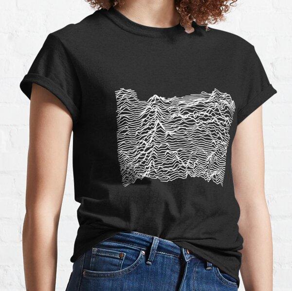 Oregon - Unknown Elevations (Without Text) Joy Plot Shirt Classic T-Shirt