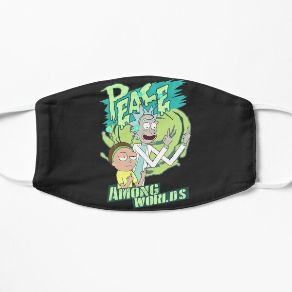 Peace between worlds   Rick and Morty   Peace among worlds Mask