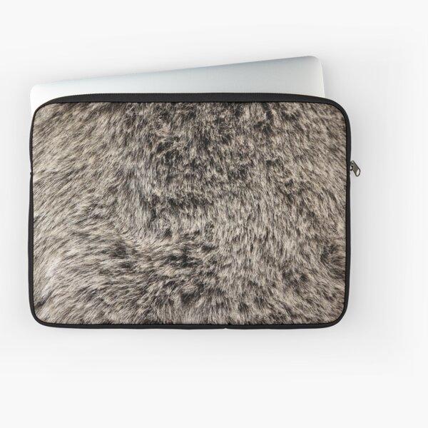 Faux Fur Texture Laptop Sleeve