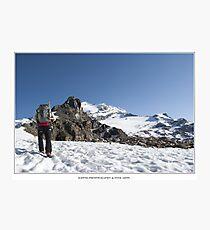 climbing Photographic Print