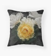 Golden Touch Throw Pillow