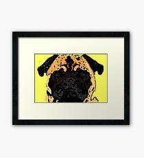Illustration-Hund  Framed Print
