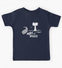 Nuke The Whales Kids Tee