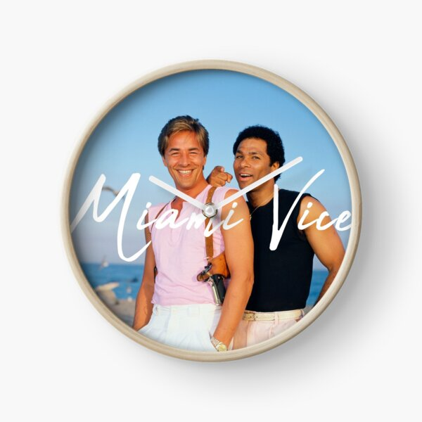Miami Vice Clock